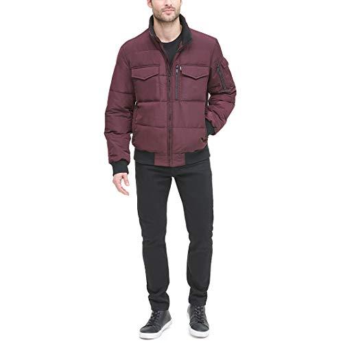 DKNY Men's Quilted Performance Bomber Jacket, oxblood, Large image https://images.buyr.com/-dnUinga6mq-iUpFcoynFg.jpg1
