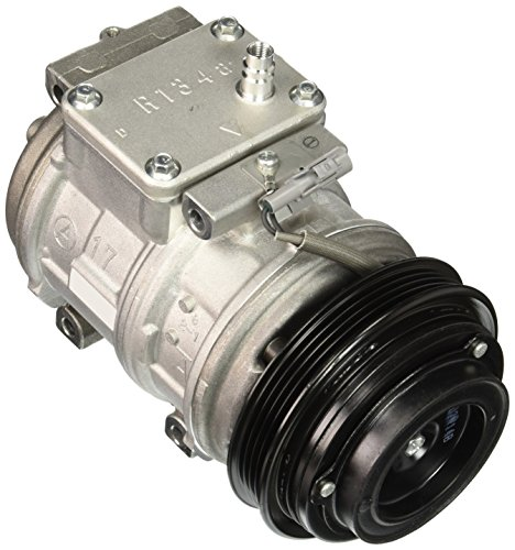 Denso 471-1242 New Compressor with Clutch image 1