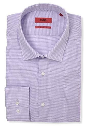 Hugo Boss Men's Mabel Sharp Fit Tonal Check Dress Shirt (17 x 34/35, Navy) image https://images.buyr.com/0_fzrzE7yle9vzrwjSawWA.jpg1