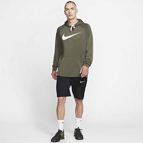 Nike Men's Hoodie Pull-Over Swoosh, Cargo Khaki/White, X-Large image https://images.buyr.com/1zSMUQSflP3KSuOPoWB08Q.jpg1