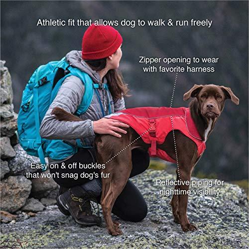 Kurgo 2001 North Country Dog Coat, Dog Winter Jacket, Waterproof Dog Jacket, Dog Snow Jacket & Windproof Dog Coat, Reflective Dog Fleece, Coastal Blue, X-Large, X-Large image https://images.buyr.com/2go2KtS-RKXDQeJZNyxrNA.jpg1