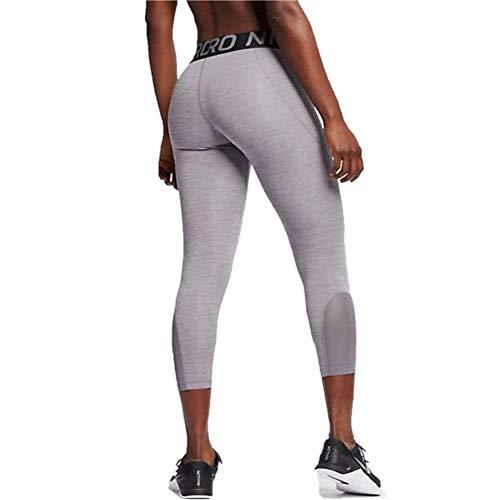 Nike Women's Pro 365 Crop Tight (Gunsmoke/HTR/Gunsmoke/Black, X-Small 20.5) image https://images.buyr.com/2uRDNg8ueFphcS648PMlmQ.jpg1