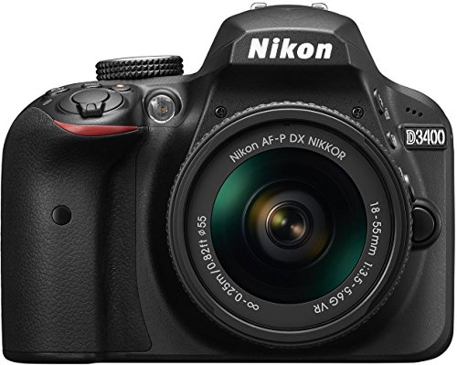 Nikon D3400 w/ AF-P DX NIKKOR 18-55mm f/3.5-5.6G VR (Black) image 1