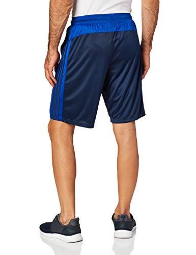 adidas Men's Designed-2-Move 3-Stripe Shorts, Collegiate Navy/Collegiate Royal, Small image https://images.buyr.com/3wfH6lUNo6FgviXcJCKP9g.jpg1