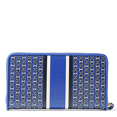 Tory Burch Gemini Link Zip Continental Wallet, Jewel Blue image https://images.buyr.com/5-8TUKfNrYrKdNx9nSgnUA.jpg1