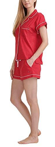 Tommy Hilfiger Womens 2 Piece Pajama Shorts Set (Classic Red Dot, Large) image https://images.buyr.com/5DpjsWCyePgFZ22SPwIIRA.jpg1