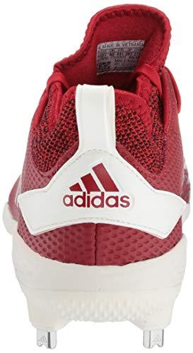 adidas Men's Adizero Afterburner V, Power Red/Cloud White/Black, 7.5 M US image https://images.buyr.com/5XuHL9YLC4GmPXwlzIq85A.jpg1