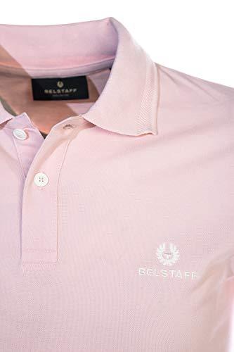 Belstaff Classic Short Sleeve Polo Shirt in Pink image https://images.buyr.com/6M1CvgSopXnK5AnWgiiFWw.jpg1