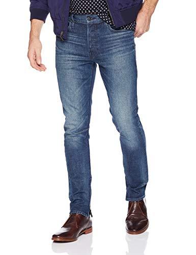HUDSON Jeans Men's Vaughn Skinny Ankle Zip Jeans, Franklin, 32 image 1