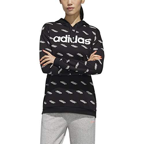adidas Women's Favorites Hooded Sweatshirt Black/White XX-Small image https://images.buyr.com/88VBwmwDzKJ9ZsTznyhFVQ.jpg1