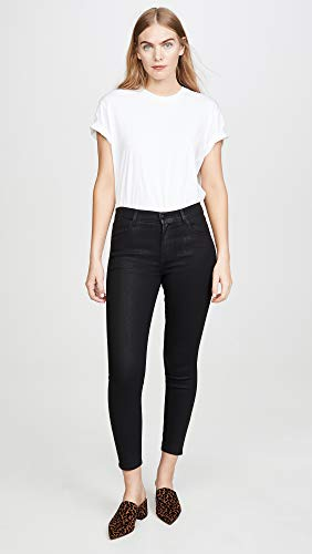 J Brand Women's Alana High Rise Crop Skinny Jeans, Fearful, Black, 29 image https://images.buyr.com/8mTNsacOzsxhso6TmJgu0A.jpg1