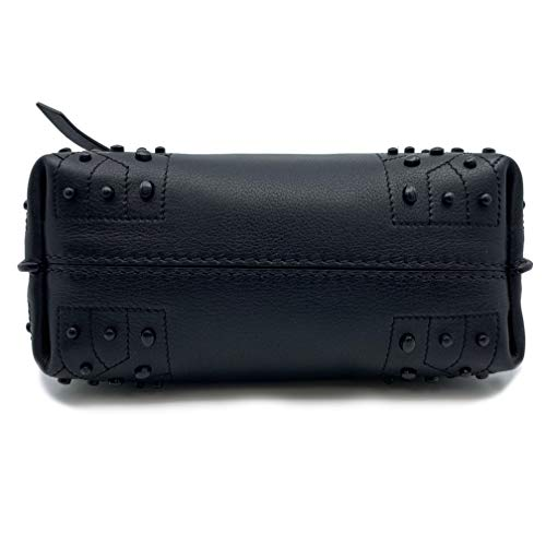 Tod's Wave Micro Gommini Black Leather Ladies Satchel Bag XBWAMRWD001MTI-B999 image https://images.buyr.com/8nAnUHZ-t3f8N3VEiQYa3w.jpg1