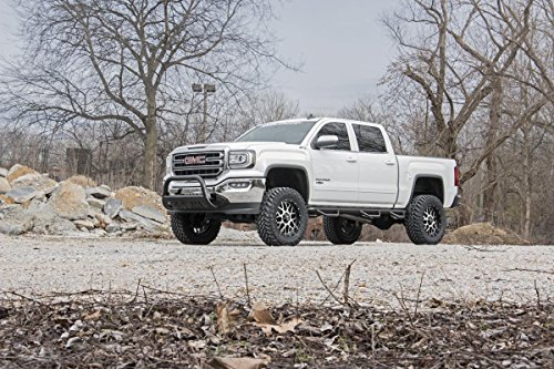 Rough Country W2W Nerf Bar Hoop Steps (fits) 2014-2018 Chevy Silverado GMC Sierra | Double Cab | 6.5 FT | Bed Steps image https://images.buyr.com/8p-BmFt9-PAGP_lqScF5yA.jpg1