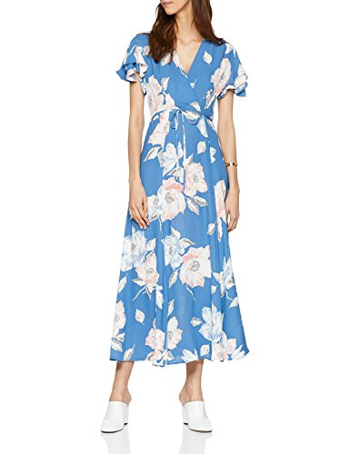 French Connection | Crepe Floral-Print Maxi Dress | Blue | 10 image 1