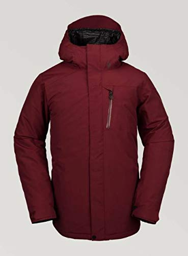Volcom Men's L Insulated Gore-Tex Breathable Snow Jacket, Vintage Black, Small image 1