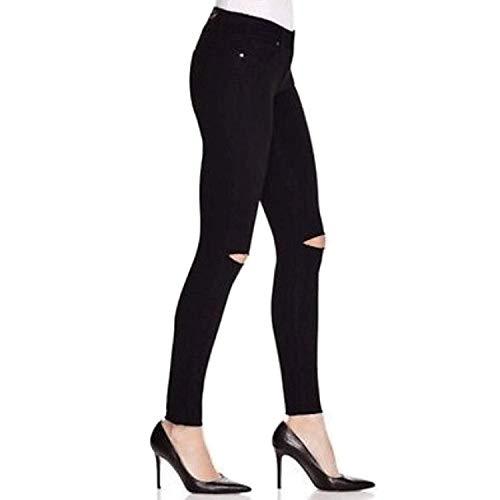 Paige Womens Verdugo Ankle Skinny Jean Black Overdye with Knee Slashes 25, 26, 27, 28, 29, 30, 32 image https://images.buyr.com/9rauD9PjsnRHB3RKurAYUQ.jpg1