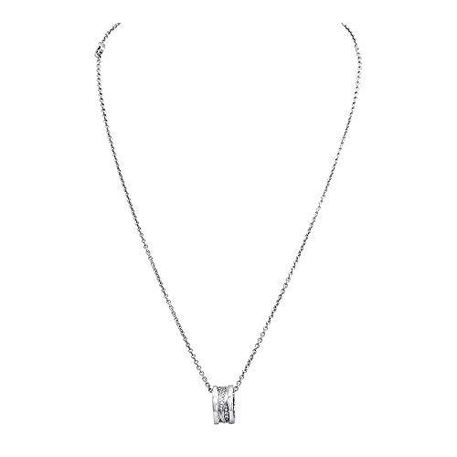 BVLGARI B.Zero1 Design Legend 18K White Gold Necklace image 1