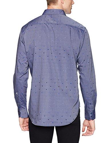 Robert Graham Men's Kerr Long Sleeve Classic FIT Shirt, Navy, Small image https://images.buyr.com/Cf3Oy_i0SGuu43eLlwVbKA.jpg1