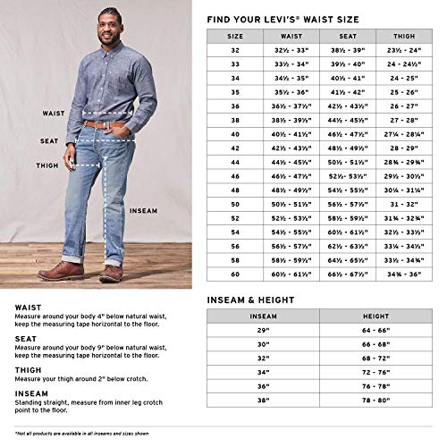 Levi's Men's Big and Tall 501 Original Fit Jean, Righty Lefty Light, 36W x 38L image https://images.buyr.com/DGvU1jQLc3MWvTIEY560dQ.jpg1