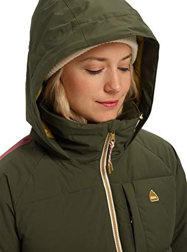 Burton Womens Keelan Jacket, Forest Night/Rose Brown, Medium image https://images.buyr.com/DXatvOfvHyrvQ4PwRc6laA.jpg1