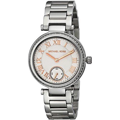Michael Kors MK5970 Ladies Skylar Silver Tone Watch image 1