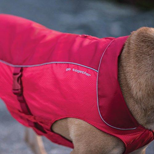 Kurgo 2001 North Country Dog Coat, Dog Winter Jacket, Waterproof Dog Jacket, Dog Snow Jacket & Windproof Dog Coat, Reflective Dog Fleece, Coastal Blue, X-Large, X-Large image https://images.buyr.com/EkwDj4Y-vB7NxQfxtav7-Q.jpg1