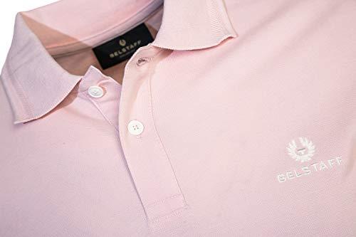 Belstaff Classic Short Sleeve Polo Shirt in Pink image https://images.buyr.com/G-15KQif2gdvPclFmRcqQA.jpg1