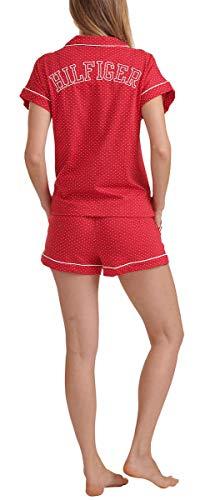Tommy Hilfiger Womens 2 Piece Pajama Shorts Set (Classic Red Dot, Large) image https://images.buyr.com/GKdg2W2fNjSIsS1OK4x2Vg.jpg1