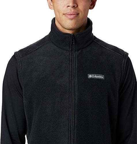 Columbia Men's Size Steens Mountain Full Zip Soft Fleece Vest, Black - legacy, Large Tall image https://images.buyr.com/GgGPtSXGMRM8kpCgeQYWqA.jpg1