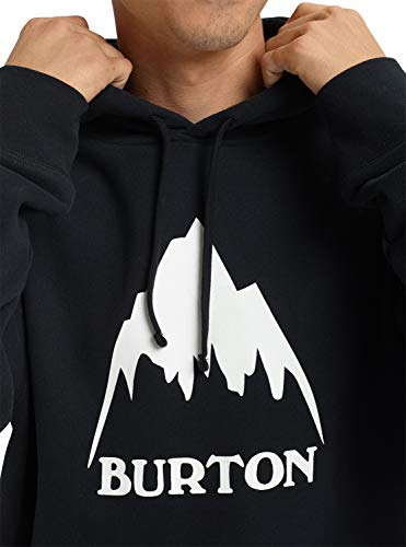 Burton Men's Classic Mountain High Pullover Hoodie, True Black W19, Medium image https://images.buyr.com/GwoULXDHkd2Hx6QNKlUldg.jpg1