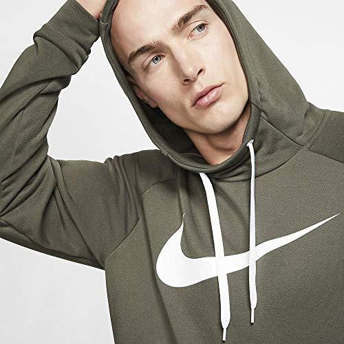 Nike Men's Hoodie Pull-Over Swoosh, Cargo Khaki/White, X-Large image https://images.buyr.com/H-Vj4vVXDESTJRaLEsU60Q.jpg1