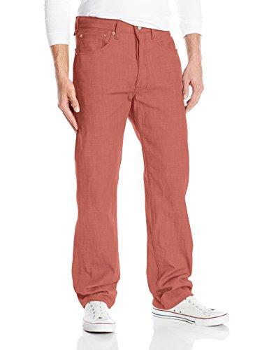 Levi's Men's 501 Original Fit-Jeans, Marsala Garment Dye, 36W x 30L image 1