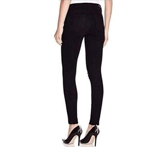 Paige Womens Verdugo Ankle Skinny Jean Black Overdye with Knee Slashes 25, 26, 27, 28, 29, 30, 32 image https://images.buyr.com/ItB9zDmt2nOjXVih4ZfK2g.jpg1