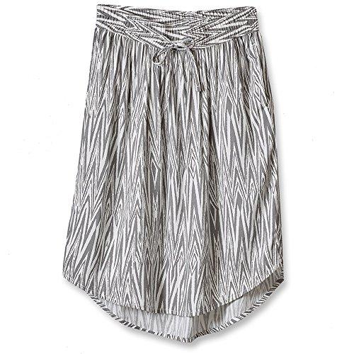 KAVU Women's Joplin Skirt, Grey, Large image 1