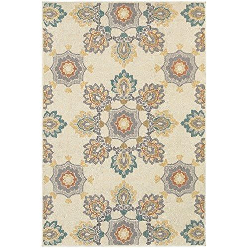 "Oriental Weavers Hampton 078W5 Area Rug, 9'10 x 12'10"" image 1"