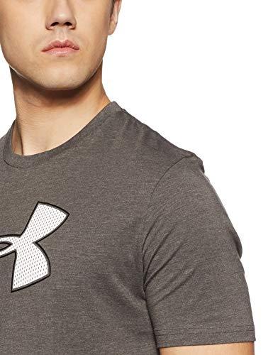 Under Armour Mens Big Logo, Charcoal Medium Heat (019)/White, Medium image https://images.buyr.com/Lv44ekZhl90nfUvdaTrk2w.jpg1