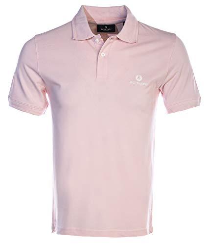 Belstaff Classic Short Sleeve Polo Shirt in Pink image https://images.buyr.com/MA4dUVv3eHCQCT53IMikXA.jpg1