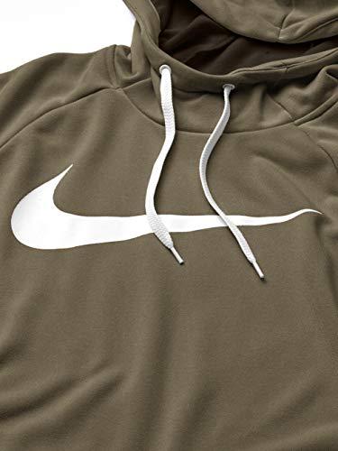 Nike Men's Hoodie Pull-Over Swoosh, Cargo Khaki/White, X-Large image https://images.buyr.com/MDkEw1B_1QxRNe_fjz2VSw.jpg1