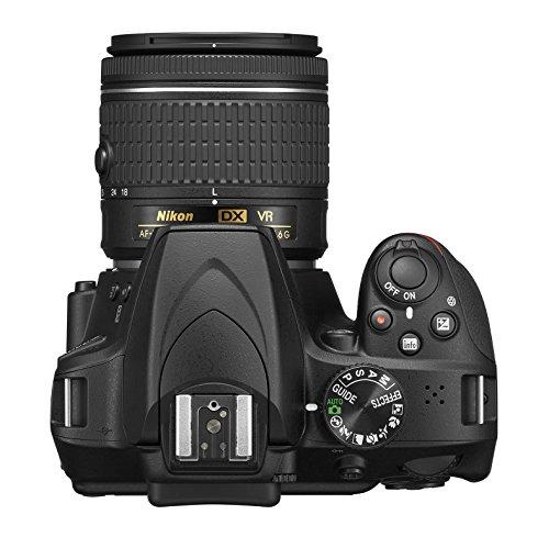 Nikon D3400 w/ AF-P DX NIKKOR 18-55mm f/3.5-5.6G VR (Black) image https://images.buyr.com/MvBQnh273w7HggQ7Zq5jrw.jpg1