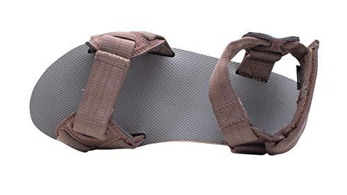 Rainbow Sandals Men's Double Layer Rubber Trekker w/Adjustable Velcro Straps Brown, Men's Large / 9.5-10.5 D(M) US image https://images.buyr.com/N6SM20yeh3OGj1C5PxDI0Q.jpg1