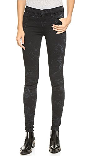 J Brand Women's Mid Rise Printed Super Skinny in Shattered Glass Shattered Glass Jeans 27 X 30 image 1