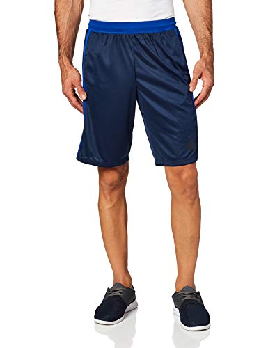 adidas Men's Designed-2-Move 3-Stripe Shorts, Collegiate Navy/Collegiate Royal, Small image 1