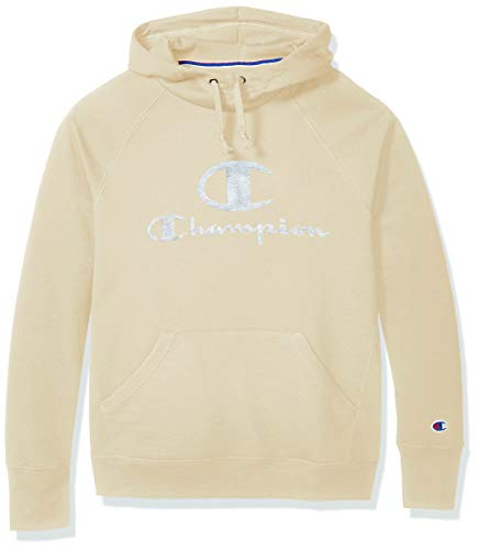 Champion Women's Powerblend Fleece Hoodie, Double Logo, Chalk White-586136, Large image https://images.buyr.com/OV18L7E_13E5BE43D411319ADDC81A44BDD532F0AFD492EB97798C0DD42A0D137DB3FB0B-0qed4ZPyQGGexrQhZIQZLw.jpg1
