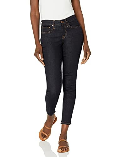 J.Crew Mercantile Women's Midrise Skinny Jean, Rinse wash, 32/28 image 1