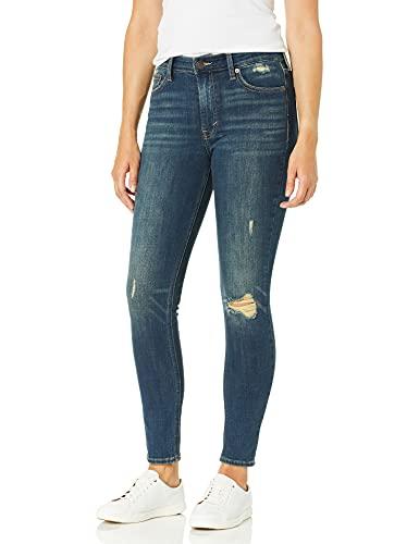 Lucky Brand Women's High Rise Bridgette Skinny Jean, Lonestar Destruct, 29W X 27L image 1