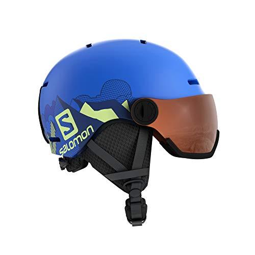 SALOMON Unisex Youth GROM Visor Helmet Accessories, Glossy/Pink (Multicolor), L image 1