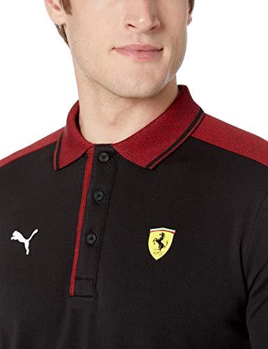 PUMA Mens Formula 1 Scuderia Ferrari Shoulder Stripe Logo Polo, Puma Black, M image https://images.buyr.com/OV18L7E_1969883F40FCF516D1CB144D5C08FDC2A0CD212A0FEEEFC46E921968E0F3B2E8-8vpv0Mlji1hhqMeIRUgVzA.jpg1