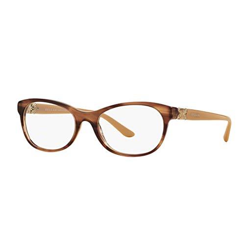 Bvlgari Women's BV4117B Eyeglasses Striped Brown 52mm image 1