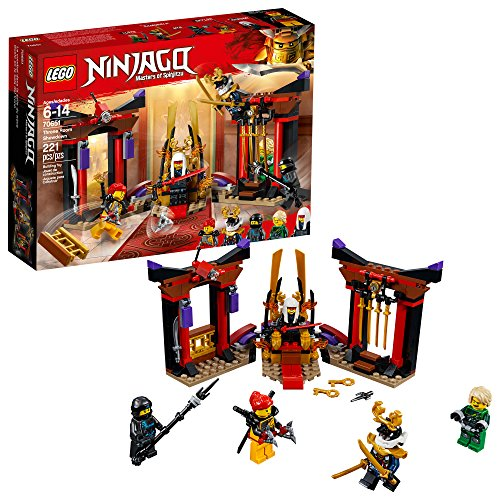 LEGO NINJAGO Masters of Spinjitzu: Throne Room Showdown 70651 Building Kit (221 Pieces) image 1