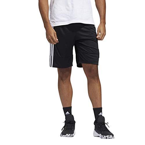 adidas Mens 3G Speed X Shorts Black/White/White M image 1